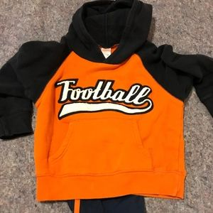 Boy's Football Sweatshirt Outfit Size 4
